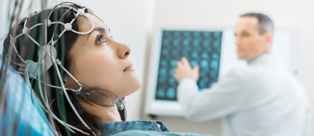 Энцефалограмма головы